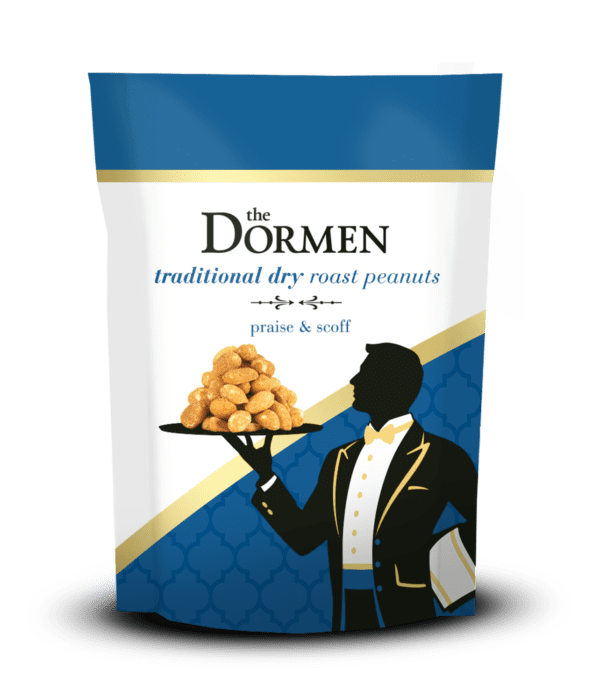 Dry Roasted Peanuts Shopify 600x690 - Dormen Traditional Dry Roasted Peanuts, 24 x 50g